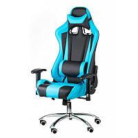 Кресло офисное Special4You ExtremeRace Black/Blue (E4763)
