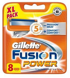 Змінні касети Gillette Fusion Power 8 шт