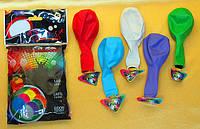 Светящиеся шары для запуска в небо,набор со светодиодом, мигающие, 5 шт