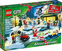 Lego City LEGO 60268 Advent Calendar. Новорічний календар (Конструктор Лего Сити Новогодний календарь Адвент)