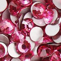 Стразы ss6 без клея Rose (розовые) (100шт.) холодной фиксации