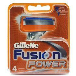 Змінні касети Gillette Fusion Power 4 шт