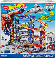 "Hot Wheels Гараж-гігант, парковка ( Трек Hot Wheels ""Гараж-гигант"" Mattel FDF25 Неймовірна Вежа)"