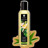 Органическое массажное масло Shunga Erotic Massage Oil Organica Exotic Green Tea 250 мл