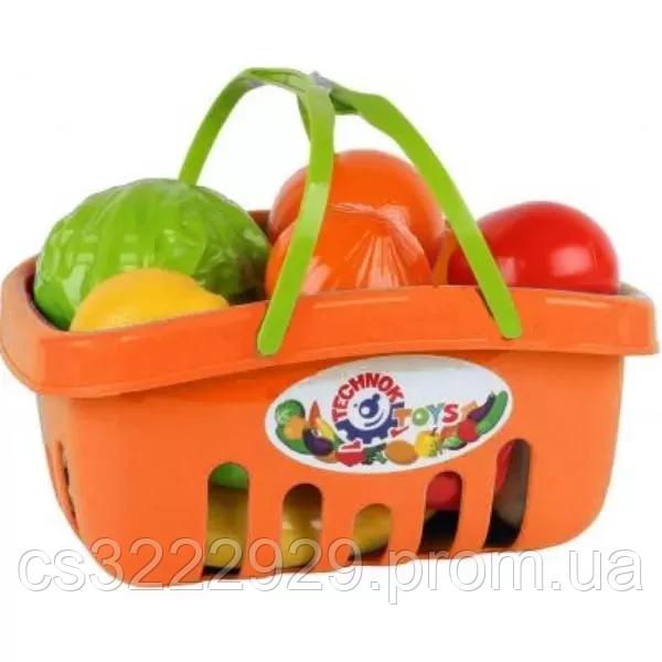 """Игрушка """"Набор продуктов Технок"""" 5354TXK (Оранжевый)"""