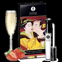 Блеск для губ Shunga Sparkling Strawberry Wine 10 мл