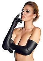 Эротические кожаные перчатки ZADO Leather Gloves