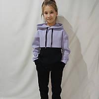 Модный тёплый спортивный костюм для девочки (134-158)