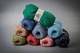 Пряжа шерстяная Vivchari Colored Wool, Color No.805 зеленый изумруд, фото 3