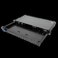 Патч-панель Corning 48 портов 2 LC-Duplex адаптера SM 1U выдвижная LAN1-04AE-ADPT-B