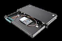 Патч-панель Corning 48 портов 6 LC-Duplex адаптера ММ(ОМ3) 1U выдвижная LAN1-12AD-PGTL-B