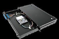 Патч-панель Corning 48 портов 6 LC-Duplex адаптера SM(OS2) 1U выдвижная LAN1-12AE-PGTL-B