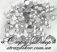 Стразы ss6 без клея Crystal (кристалл прозрачные) (1400шт.) холодной фиксации
