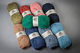 Пряжа шерстяная Vivchari Colored Wool, Color No.807 серо-голубой, фото 2
