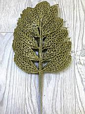 Лист для декора золото ( 10 шт ), фото 3