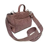 Сумка-портфель, цвет бордо, фото 4