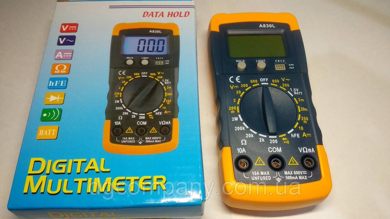 Цифровой мультиметр Mastech MAS 830L