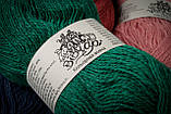 Пряжа шерстяная Vivchari Colored Wool, Color No.811 баклажан, фото 4
