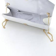 Вечерний клатч WT16281 white, фото 3