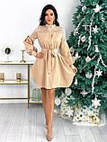 Платье с гипюровыми вставками 50-502, фото 5