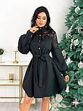 Платье с гипюровыми вставками 50-502, фото 2