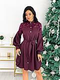 Платье с гипюровыми вставками 50-502, фото 4
