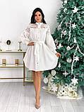 Платье с гипюровыми вставками 50-502, фото 7
