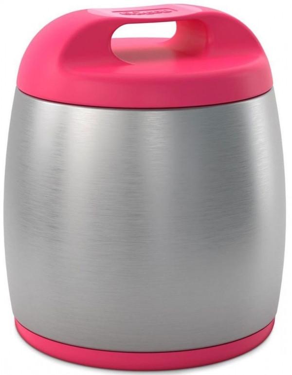 Термоконтейнер для детского питания Chicco, цвет розовый