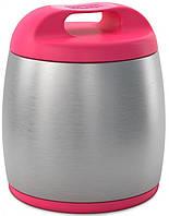 Термоконтейнер для детского питания Chicco, цвет розовый, фото 1