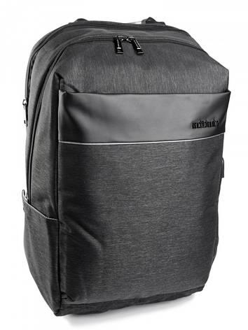 Рюкзак бизнес серии Case B-00218L черный, фото 2
