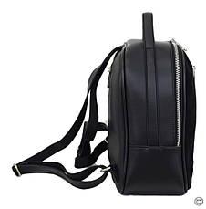 Женский рюкзак кожзам Case 643 замш черный, фото 2