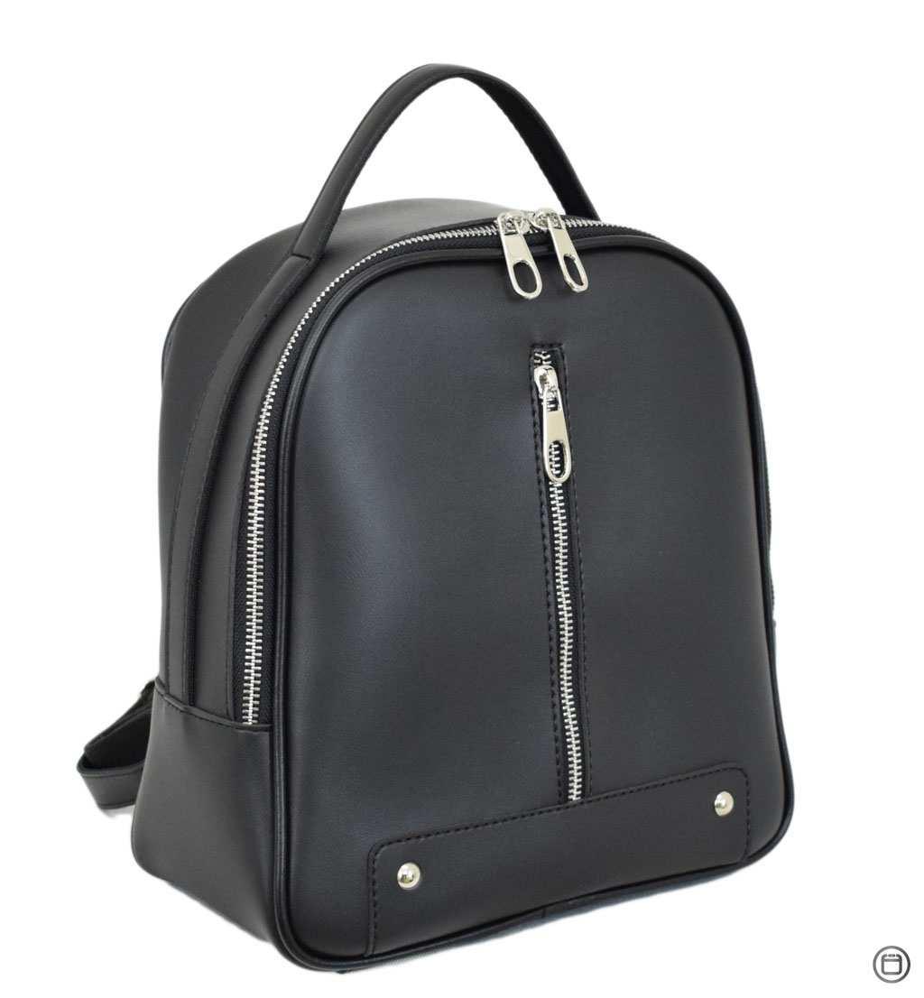 Женский рюкзак кожзам Case 643 черный г
