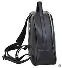 Женский рюкзак кожзам Case 643 черный г, фото 2