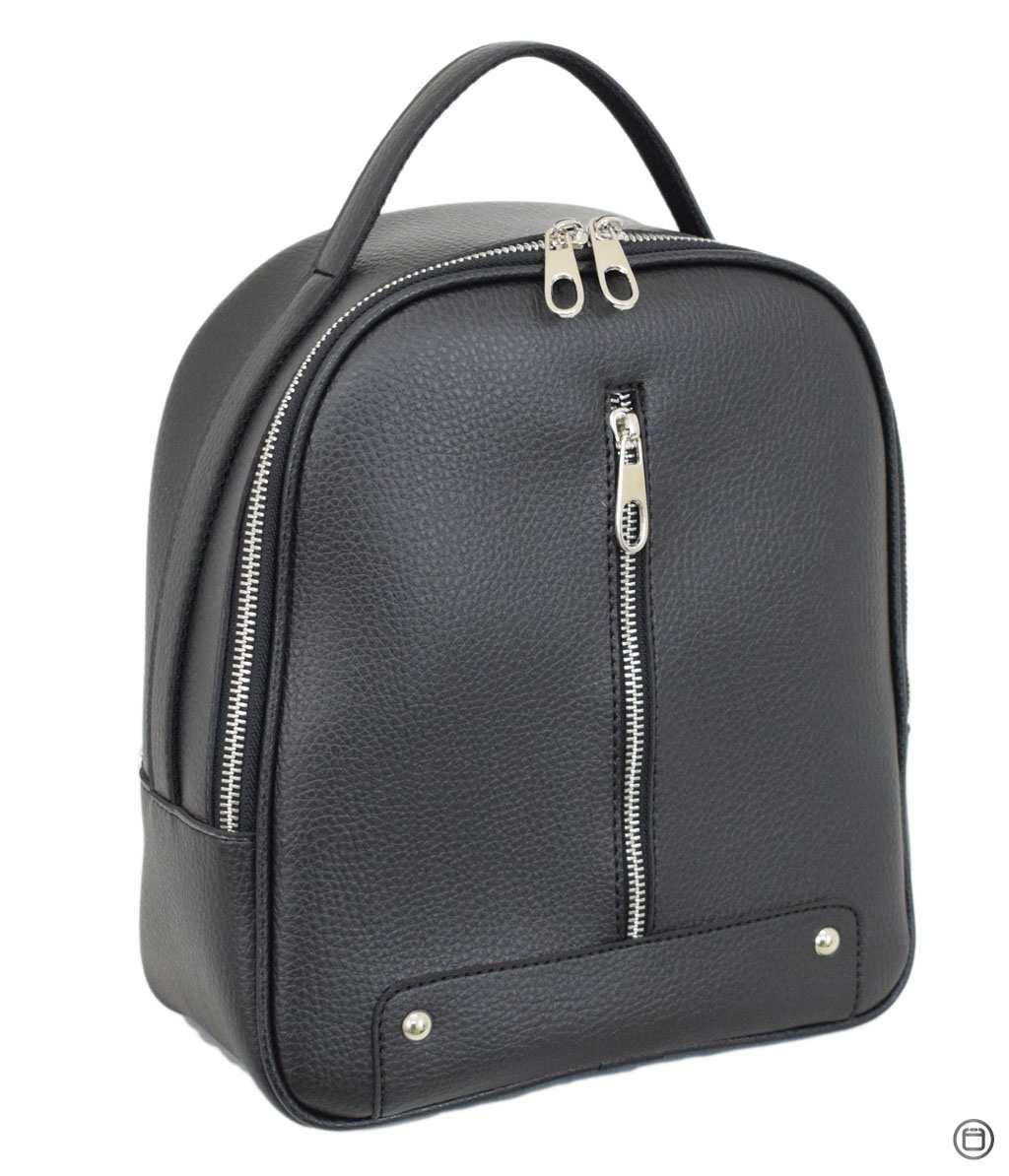 Женский рюкзак кожзам Case 643 черный