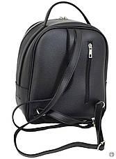 Женский рюкзак кожзам Case 643 черный, фото 2