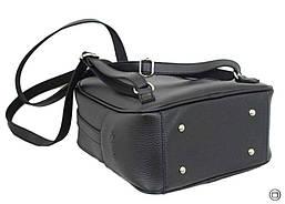 Женский рюкзак кожзам Case 643 черный, фото 3
