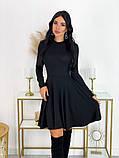 Короткое ангоровое платье 50-599, фото 2