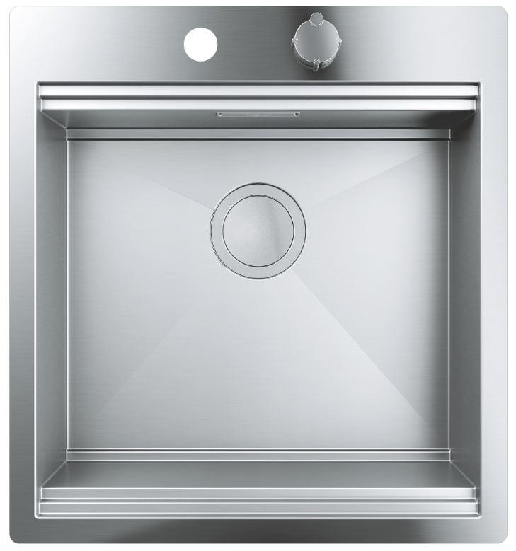 Кухонні мийки Grohe Кухонна мийка з нержавіючої сталі Grohe K800 31583SD0, матова