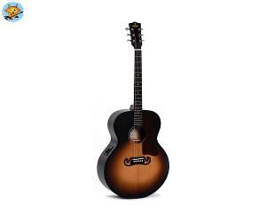 Электроакустическая гитара Sigma GJM-SGE+