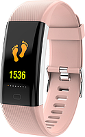 Фитнес браслет Lemfo F07 Max с измерением давления (Розовый), фото 1