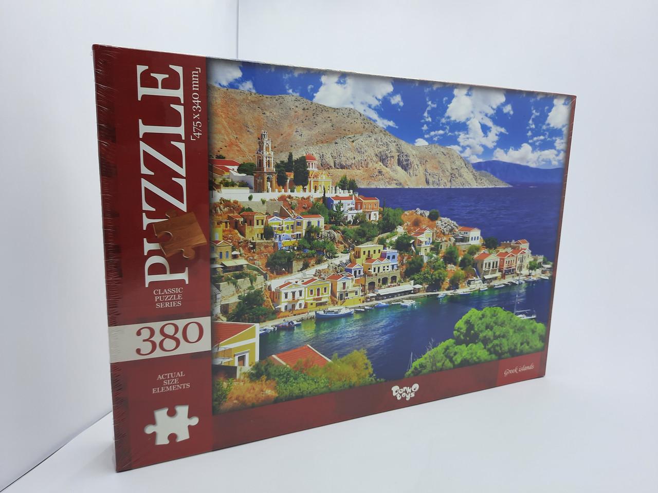 Пазлы на 380 элементов Danko Toys С380-04-06