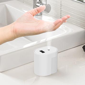 Автоматический Бесконтактный умный датчик распыление спирта диспенсер ручной очиститель