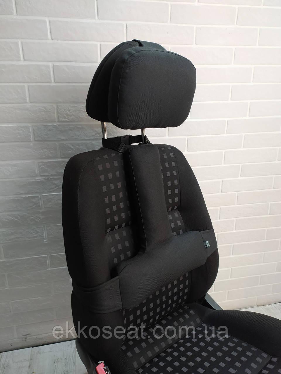 Ортопедические подушка упор под спину и на подголовник (набор) EKKOSEAT для автомобиля