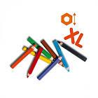 Набор Восковых Цветных Карандашей - Радуга (8 Цветов)  SES Creative 14416S, фото 2
