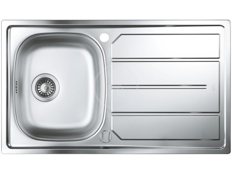 Кухонные мойки Grohe Кухонная мойка из нержавеющей стали Grohe K200 31552SD0, полированная