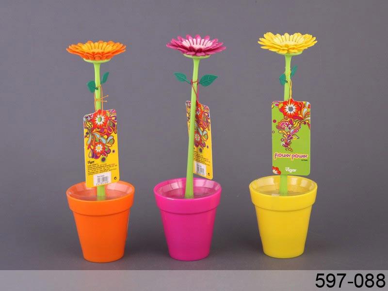 Йоржик для посуду Vigar Іспанія flower power 27см 1пр