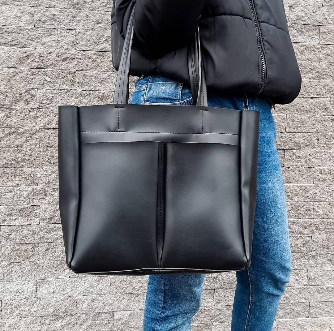 Женская повседневная сумка шоппер
