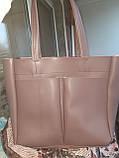 Женская повседневная сумка шоппер, фото 3