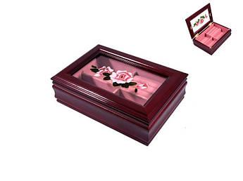 Шкатулка для прикрас King Wood Тайвань 18,5х12,5х6см