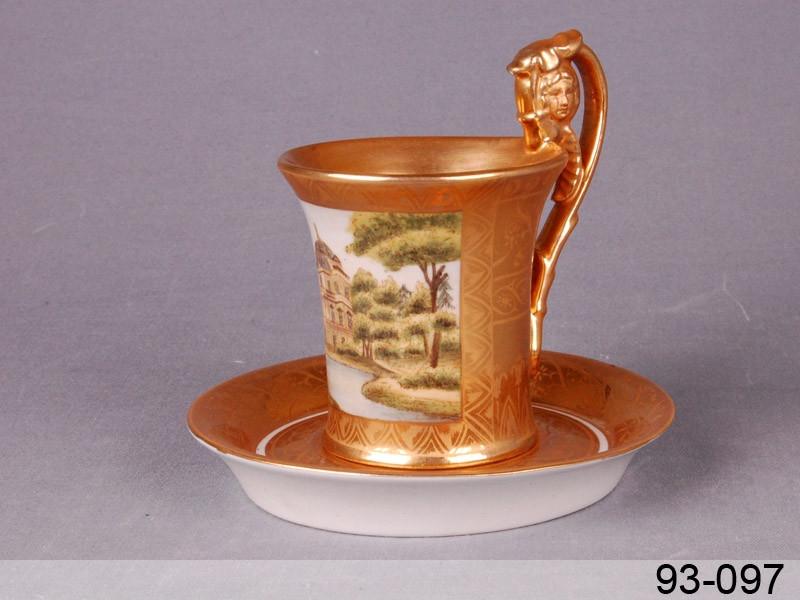 Чашка з блюдцем Lefard садиба 300мл 2пр